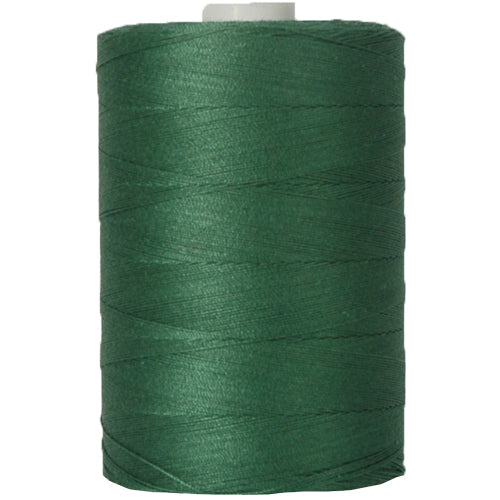 Cotton Quilting Thread - Holly Green - 1000 Meters - 50 Wt. - Threadart.com
