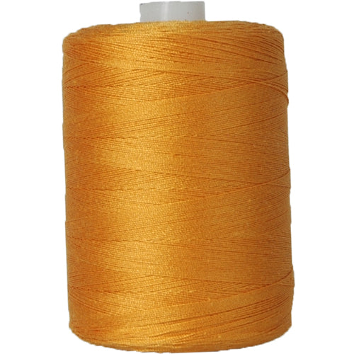 Cotton Quilting Thread- Pumpkin - 1000 Meters - 50 Wt. - Threadart.com