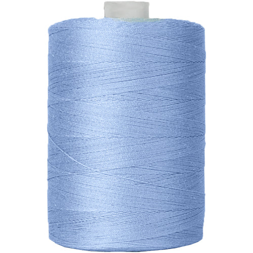 Cotton Quilting Thread - Lt. Blue - 1000 Meters - 50 Wt. - Threadart.com