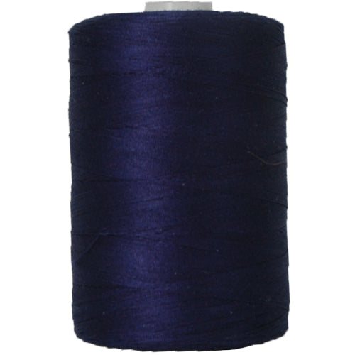Cotton Quilting Thread - Dk. Blue - 1000 Meters - 50 Wt. - Threadart.com