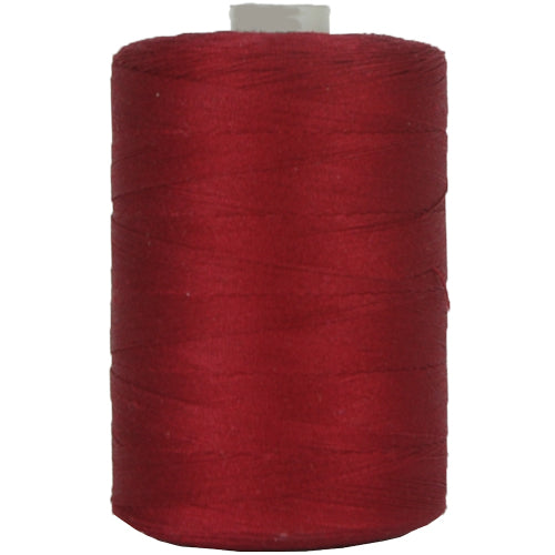 Cotton Quilting Thread - Burgundy - 1000 Meters - 50 Wt. - Threadart.com