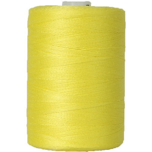 Cotton Quilting Thread - Yellow - 1000 Meters - 50 Wt. - Threadart.com