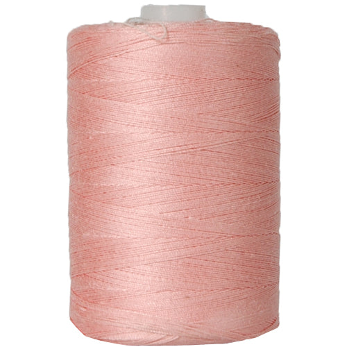 Cotton Quilting Thread - Peach - 1000 Meters - 50 Wt. - Threadart.com