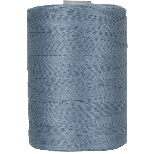 Cotton Quilting Thread - Denim Blue - 1000 Meters - 50 Wt. - Threadart.com