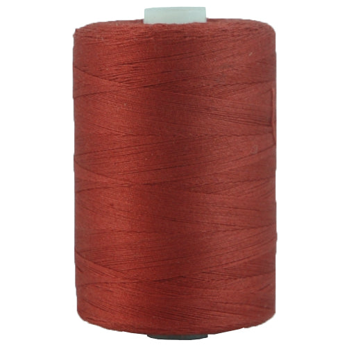 Cotton Quilting Thread - Rust - 1000 Meters - 50 Wt. - Threadart.com
