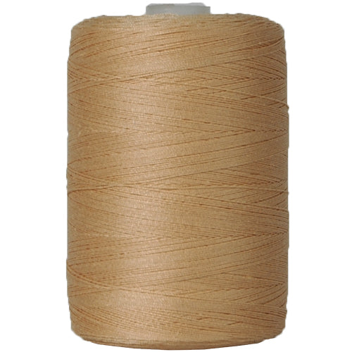 Cotton Quilting Thread - Lt. Beige - 1000 Meters - 50 Wt. - Threadart.com