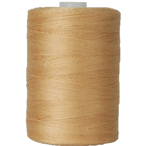 Cotton Quilting Thread - Beige - 1000 Meters - 50 Wt. - Threadart.com
