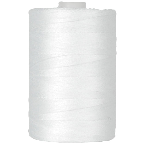 Cotton Quilting Thread White - 1000 Meters - 50 Wt. - Threadart.com