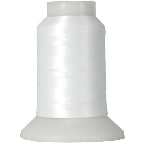 Wooly Nylon Thread- 1000m Spools - White - Threadart.com