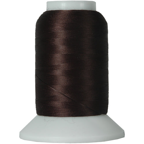 Wooly Nylon Thread - 1000m Spools - Chocolate - Threadart.com