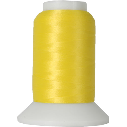 Wooly Nylon Thread - 1000m Spools - Yellow - Threadart.com