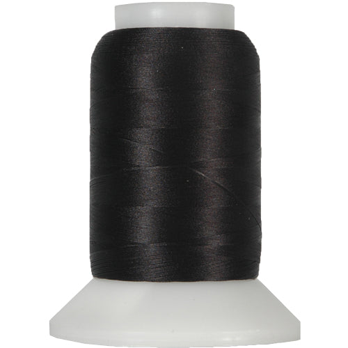 Wooly Nylon Thread - 1000m Spools - Black - Threadart.com