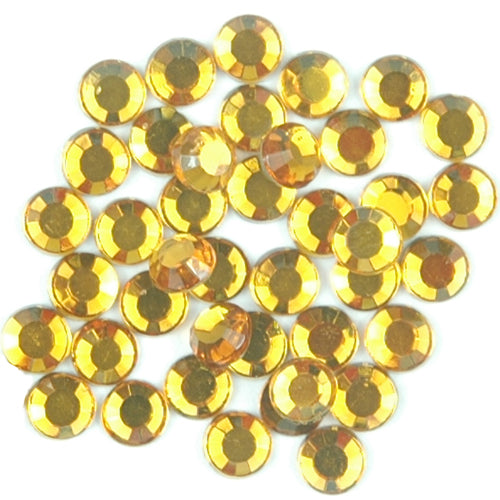 Hot Fix Rhinestones - SS20 - Topaz - 288 stones - Threadart.com