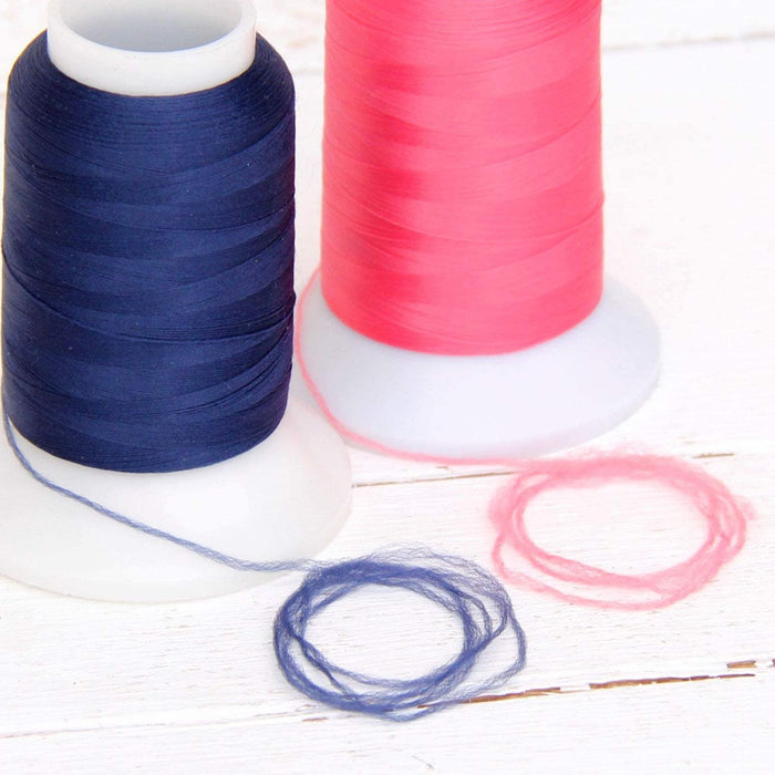 Wooly Nylon Thread - 1000m Spools - Red - Threadart.com