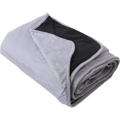"Pack of 3 Waterproof Picnic Blanket - 79""x55"" - Grey/Black - Camping, Sports - Threadart.com"