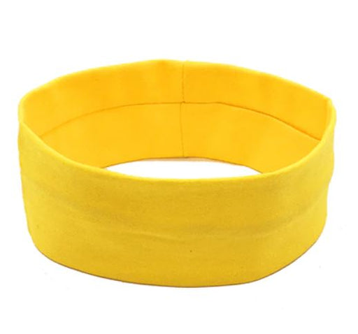 Sports Head Band - Yellow - Threadart.com