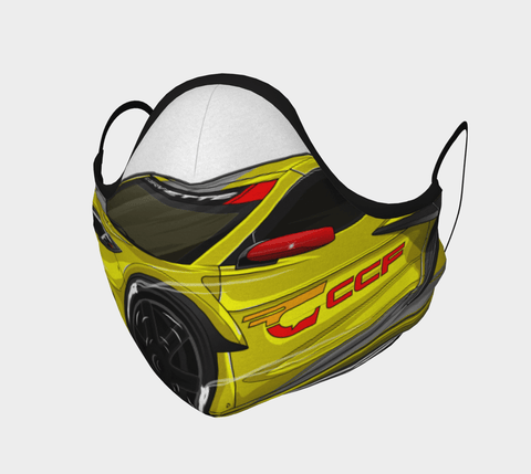 C8 Racing CCF Mask