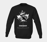 The Canadian Sweatshirt in Black