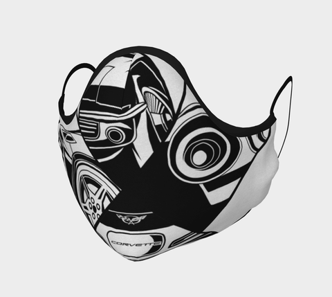 Canadian Face Corvette Mask