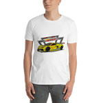 The Modern Race Tee Podium in Oily Yellow