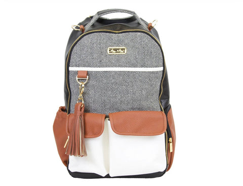 Boss Backpack-Coffee and Cream