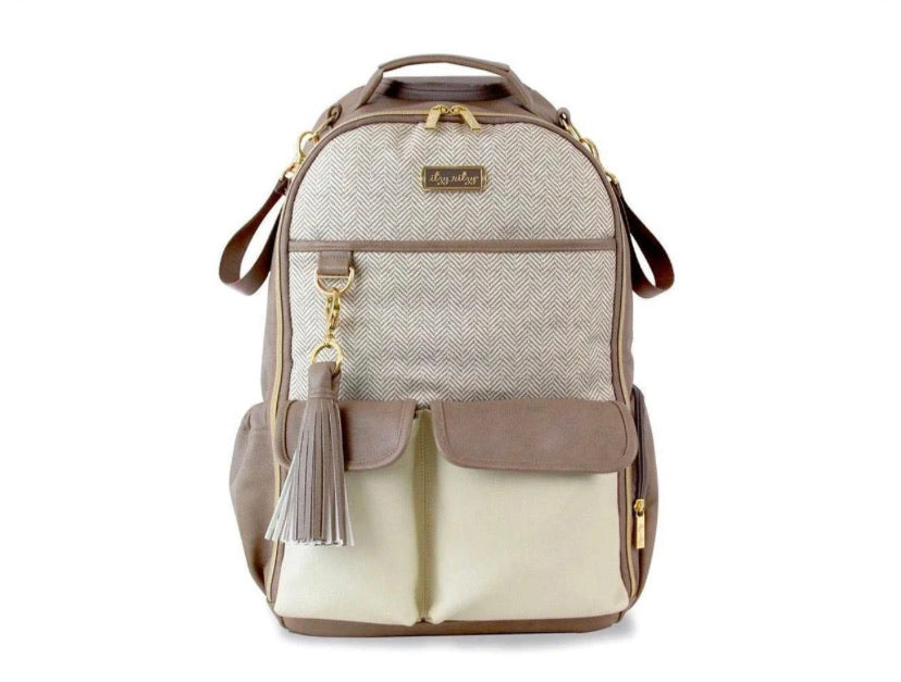 Boss Backpack-Vanilla Latte