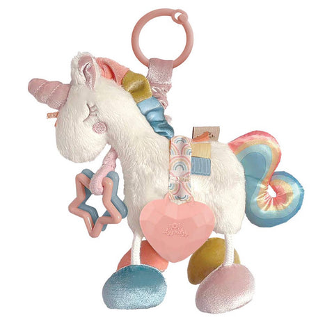 Link & Love Teething Activity Toy-Unicorn