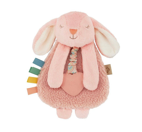 Itzy Lovey Plush & Teether Toy-Bunny