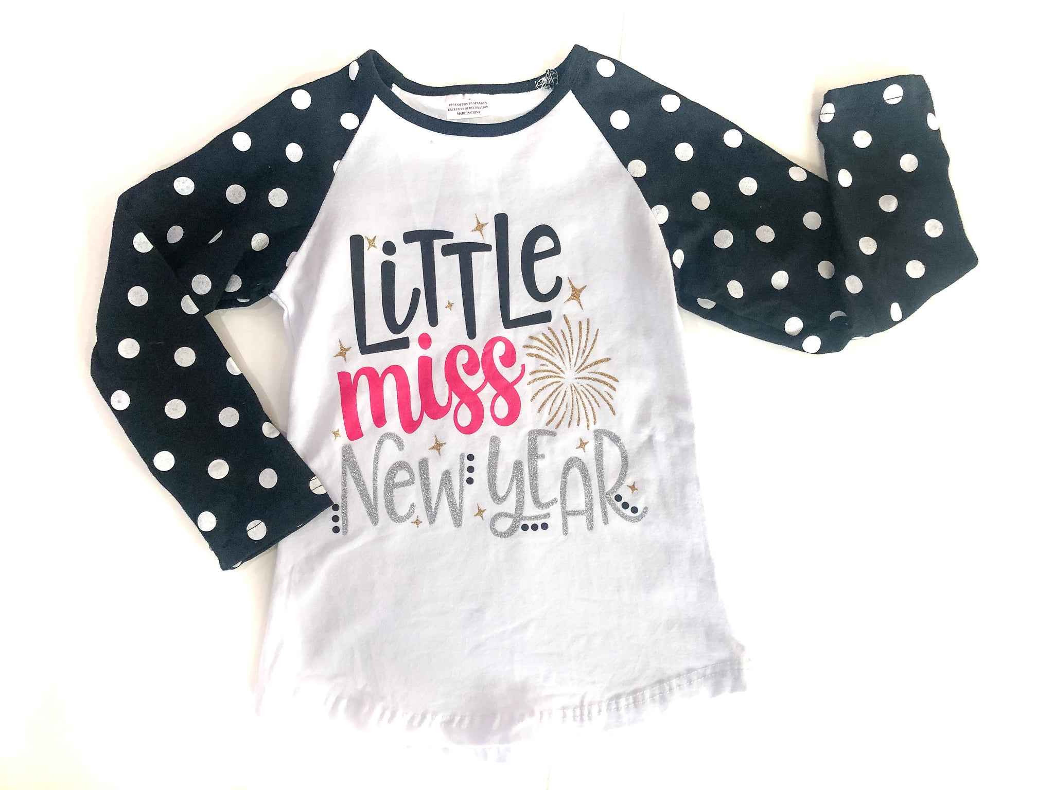 Little Miss New Year Tee