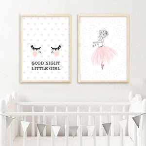 Goodnight Nursery Wall Art