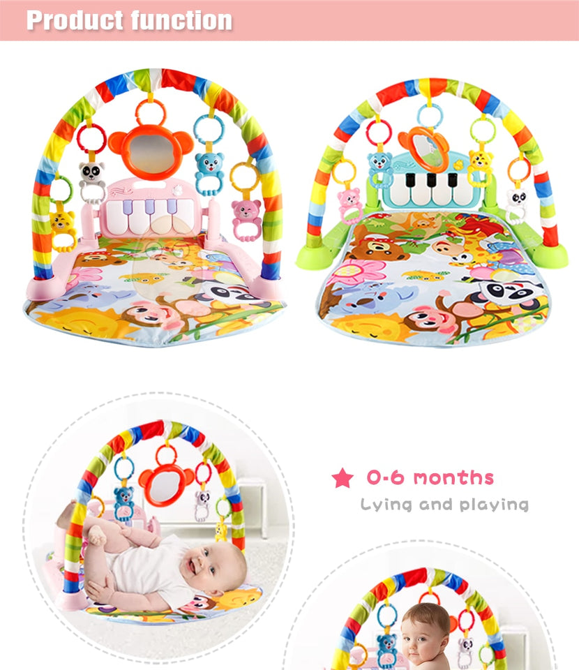 Infant and Toddler Piano Play Mat