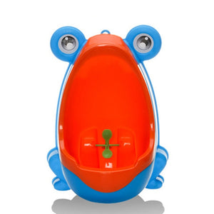 Boy's Fun Frog Urinal Potty