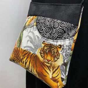 MIILK Bag Tiger Jungle Black Swirl