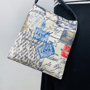 MIILK Bag Travel Stamp- Black & Tan Squares