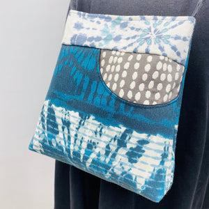 MIILK Bag/Mask Combo Jewel Blue/Grey Tie-Dye