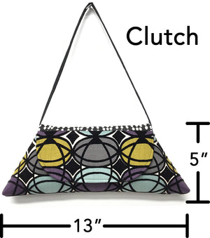 Clutch Mardi Gras Green