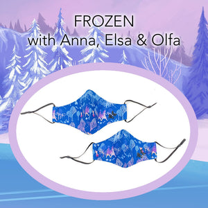 Mommy/Daughter combo deal - 2 FROZEN FACE MASKS