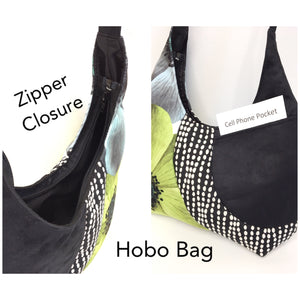 Hobo Bag Geometric Pattern