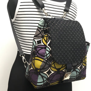 Backpack Geometric Pattern