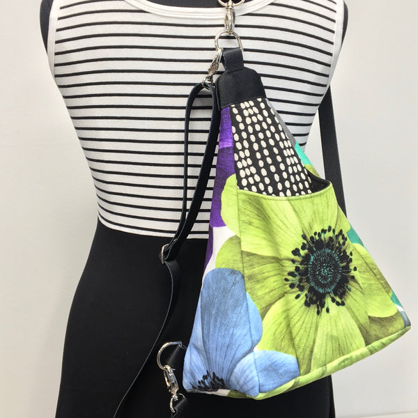Origami Bag Lime Flower
