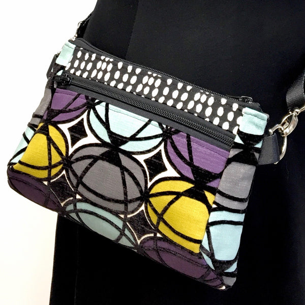 Hip Bag Geometric Pattern