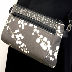 Hip Bag Grey/Cream Bubble Tree