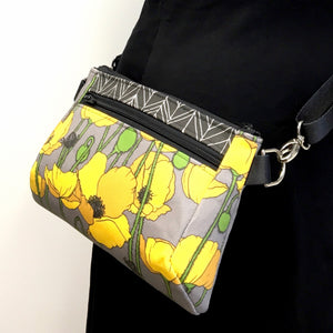 Hip Bag Yellow Poppy