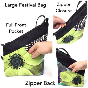 Festival Bag Orange/Grey Seed Pod