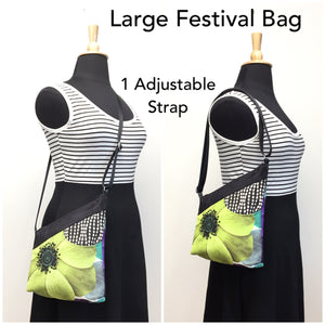 Festival Bag Lime Flower