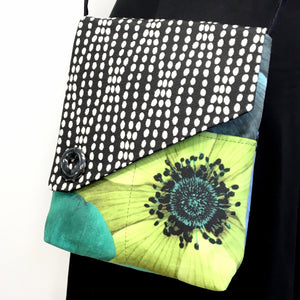 "Day Bag 48"" Strap Lime Flower"