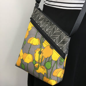 Festival Bag Yellow Poppy