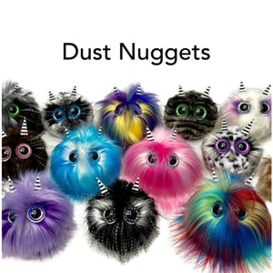 Dust Nugget Rainbow Red Blue Lime