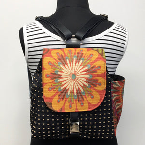 Backpack Red/Multi-color Urban Blossom