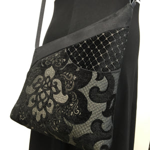 Festival Bag LARGE Black Lotus